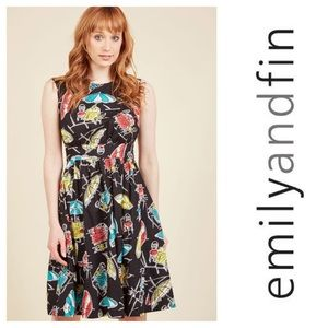 Emily Fin ModCloth Alfresco Feast Lucy Dress Sz 1X